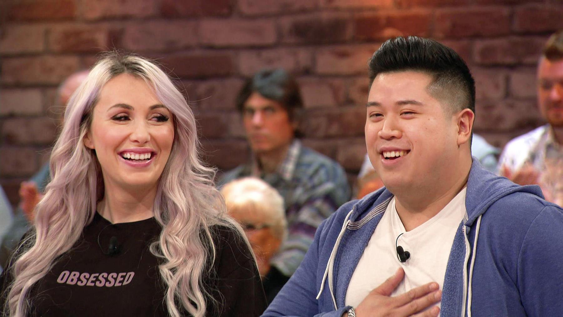 Kandidatenpaar Josina & Quang / Experte Mauro