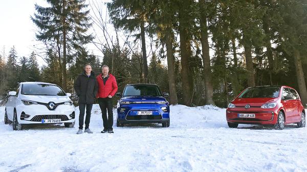 Wie schlagen sich E-Autos im Schnee?