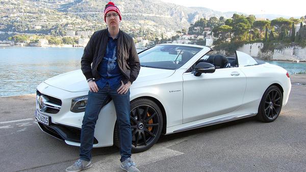 Uke Bosse macht im Mercedes-AMG S63 Nizza unsicher