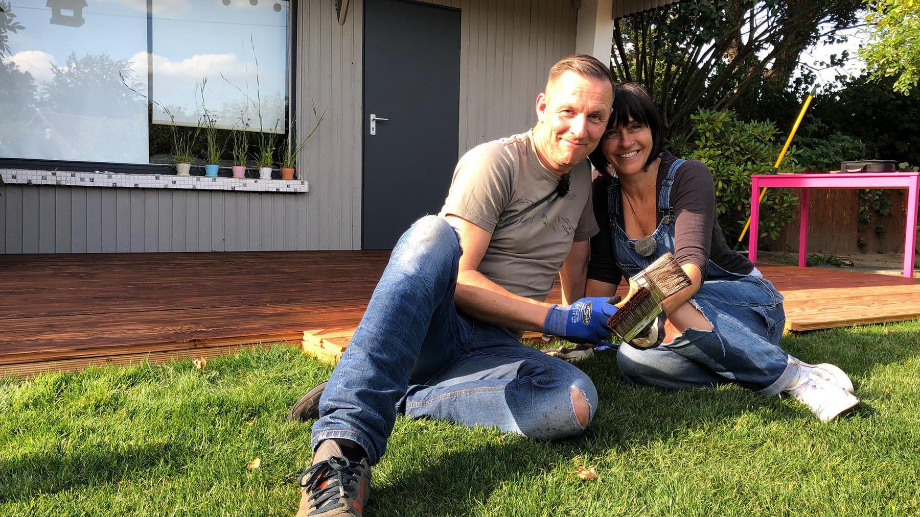 Heute u.a.: Nicole und Thomas bauen ein Hochbeet