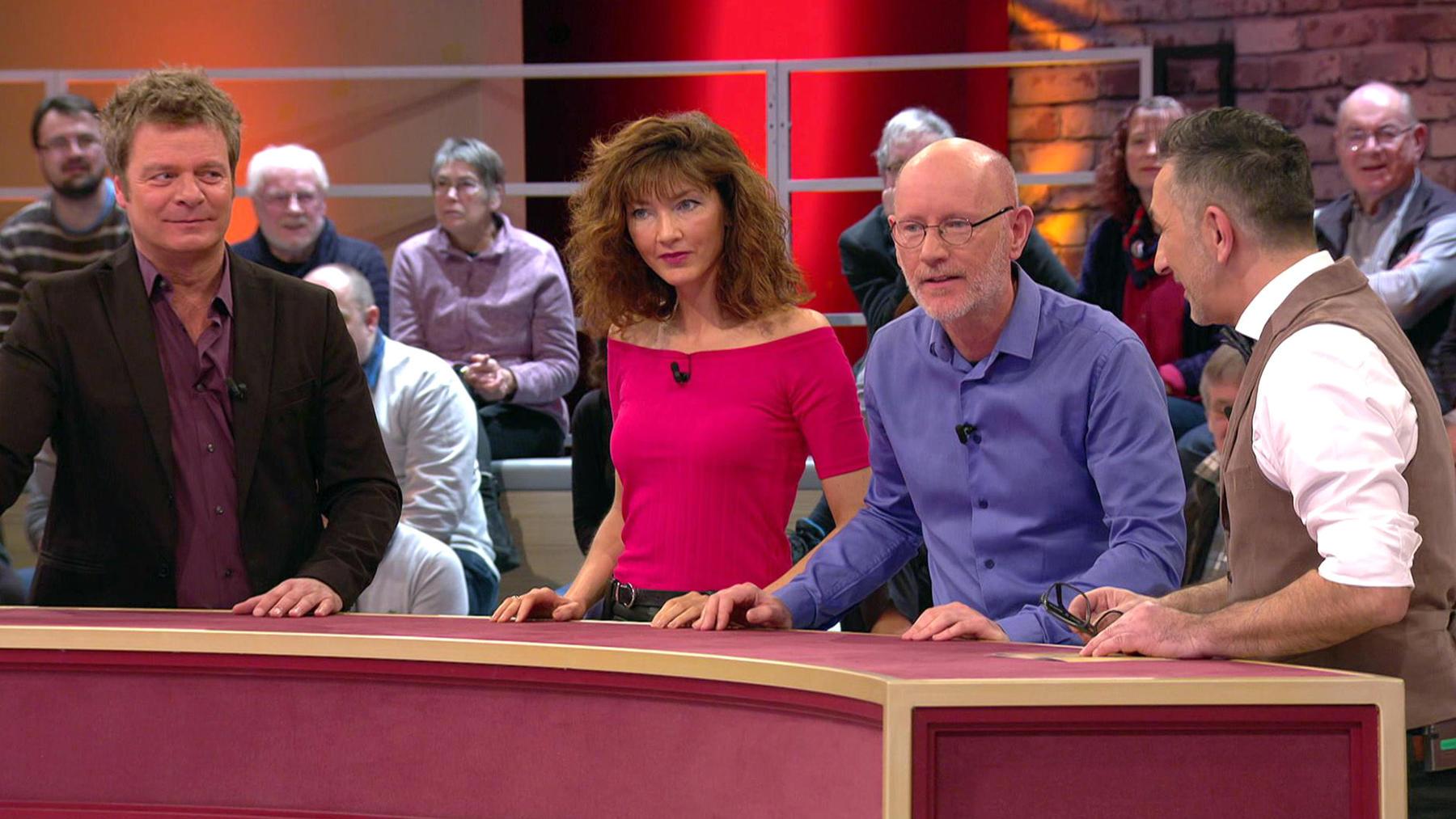 Kandidatenpaar Sylvia & Karsten / Experte Mauro