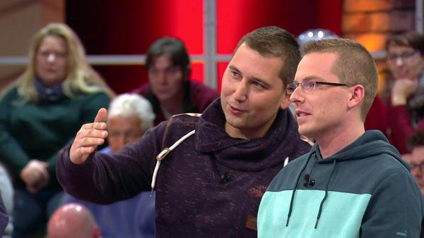 Kandidatenpaar Nick & Thomas / Experte Mauro