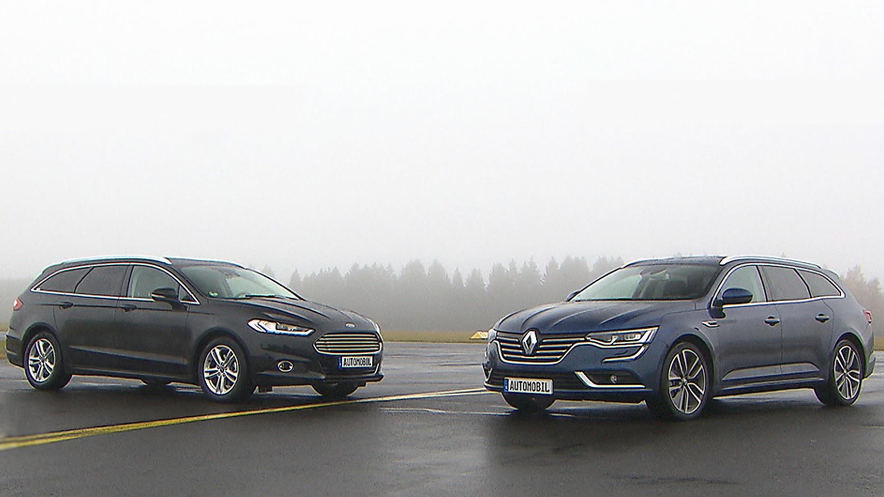 Thema u.a.: Vergleichstest: Renault Talisman / Ford Mondeo