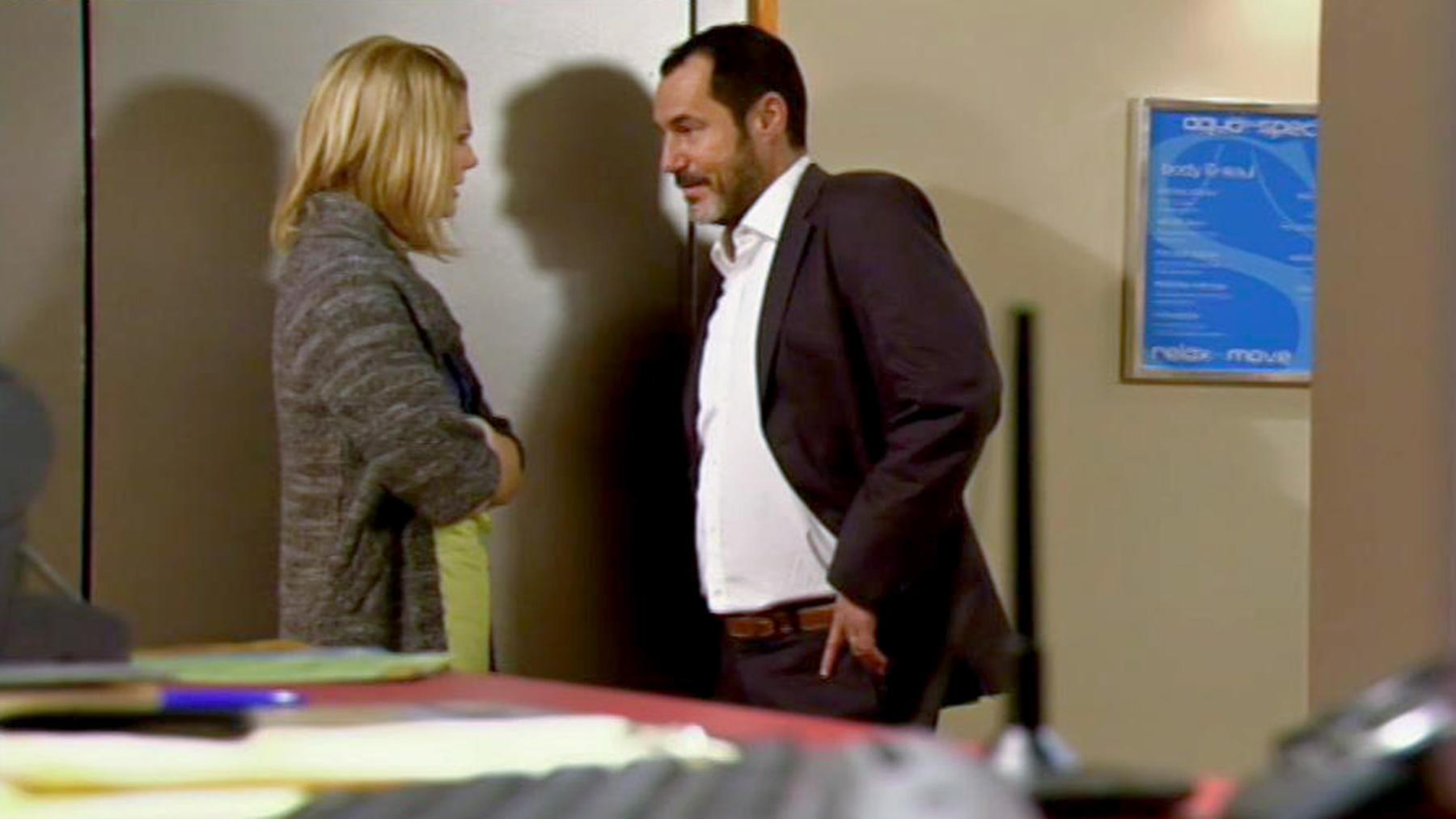 Richard und Celine beginnen eine heimliche Affäre