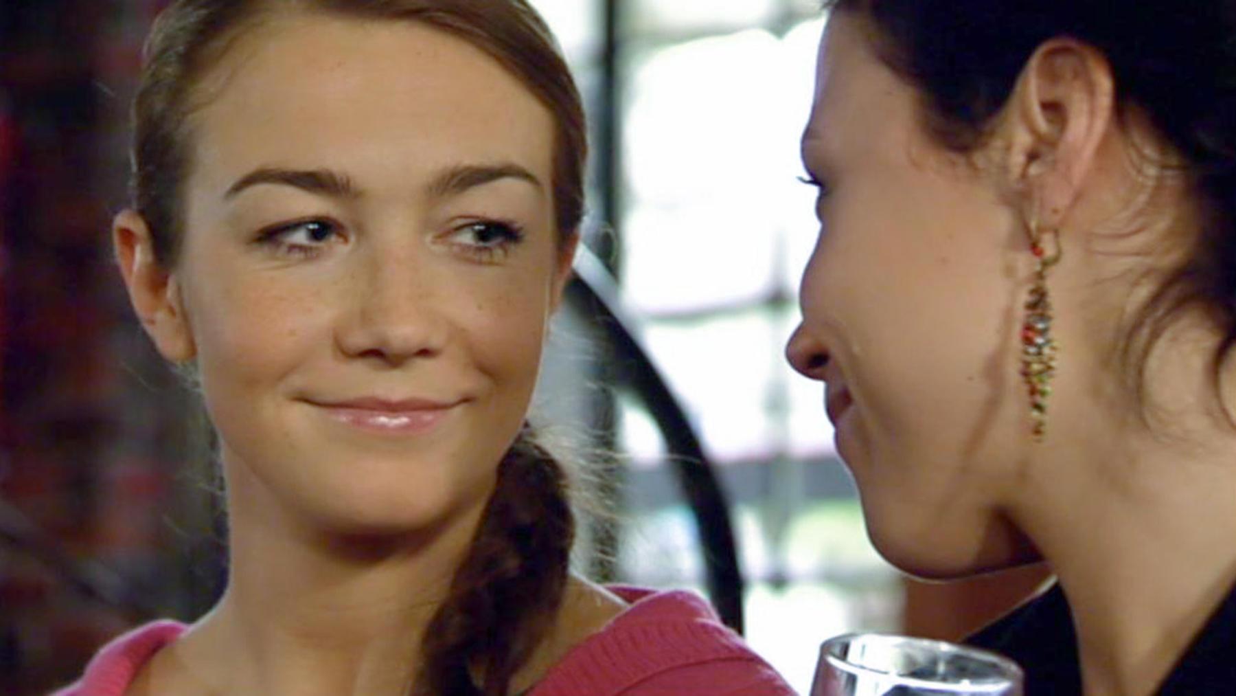 Vergeblich hofft Katja auf Verständnis von Richard
