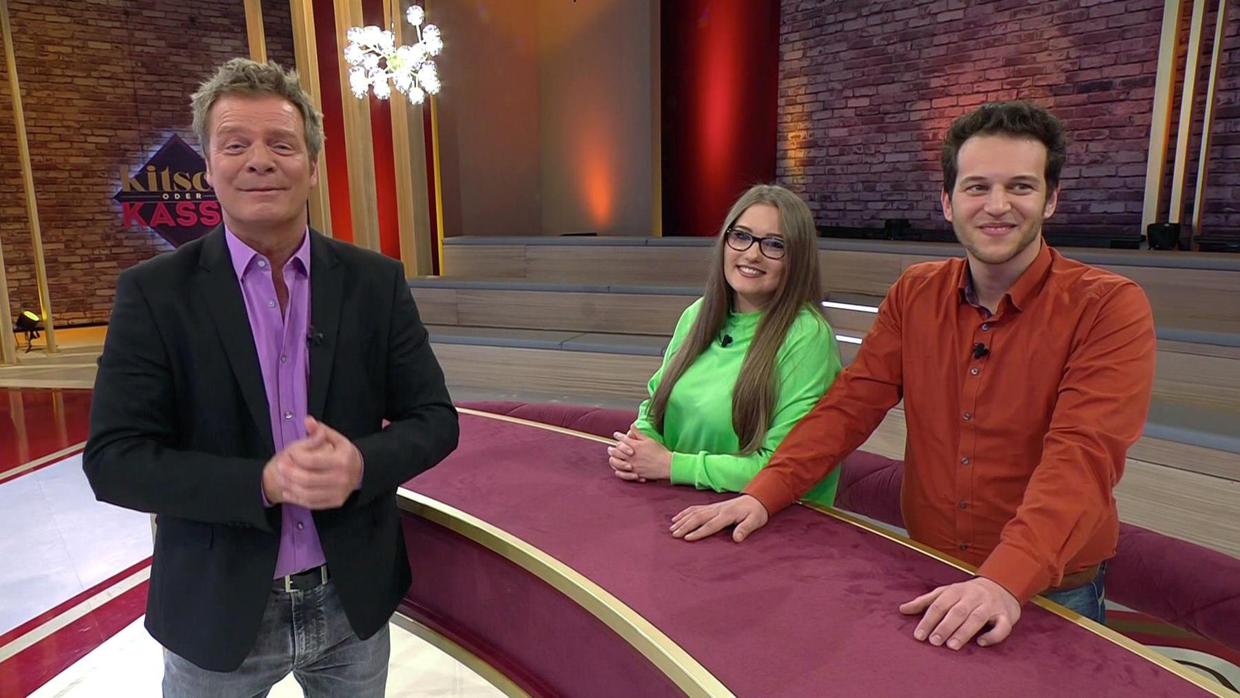 Kandidatenpaar Vicki & Rocco / Experte Mauro