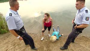 Vermeintliche Wasserleiche versetzt Mutter in Panik
