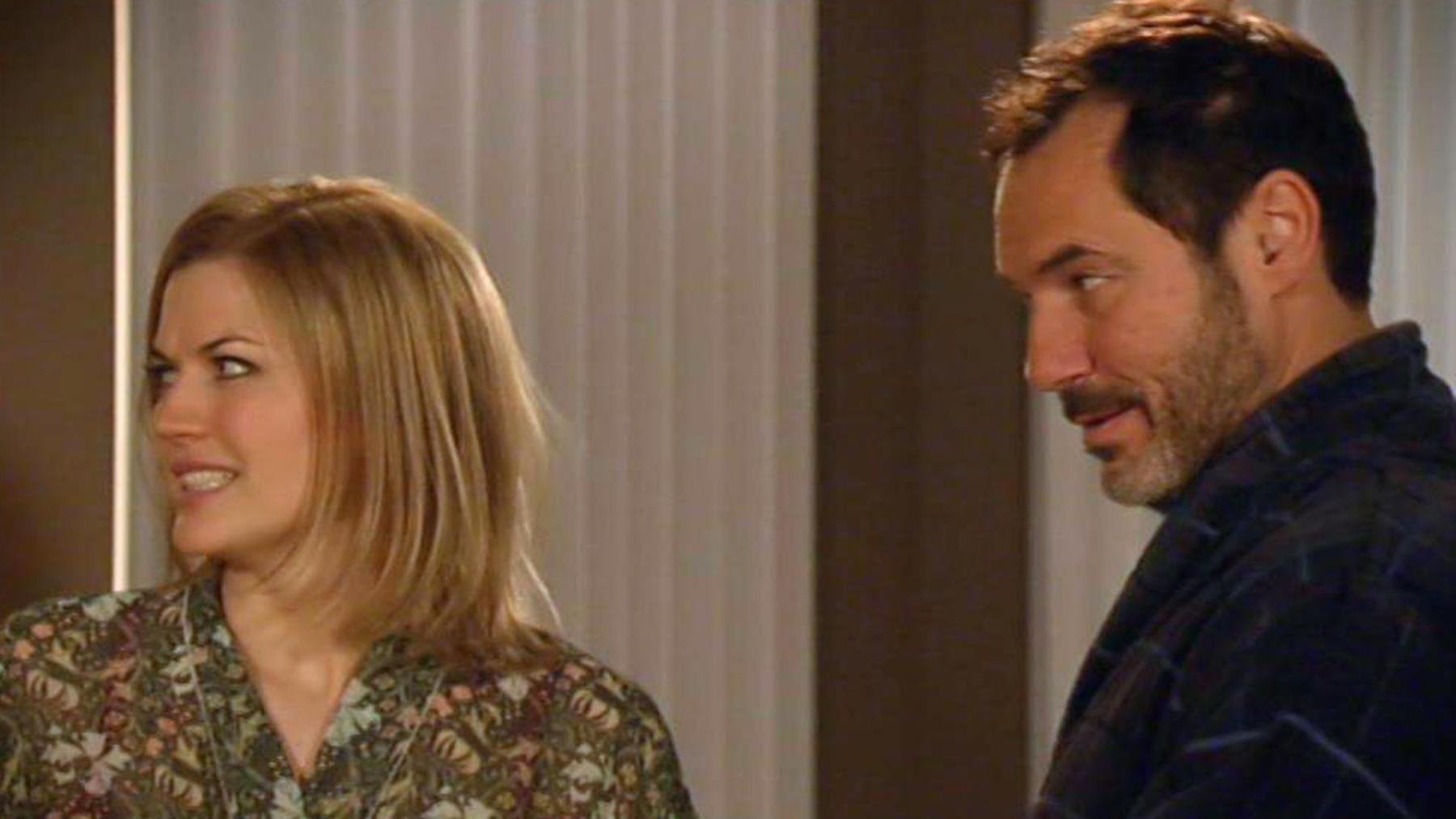 Celine verschweigt Richard ihre Schwangerschaft