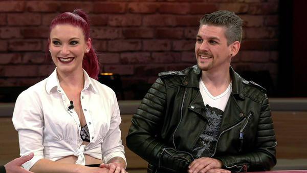 Kandidatenpaar Melanie & Felix / Experte Sarah