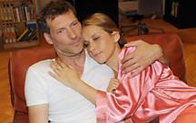 Anna und Alexander geniesen ihr Glück