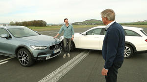 Thema u.a.: Volvo V90 CC vs. Mercedes E All Terrain