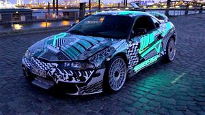 Thema u.a.: Autolack leuchtet im Dunkeln