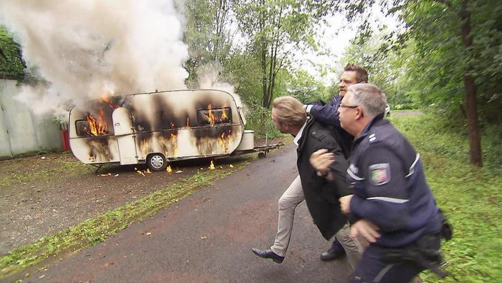 Brennender Wohnwagen enthüllt Verzweiflungstat   Folge 41