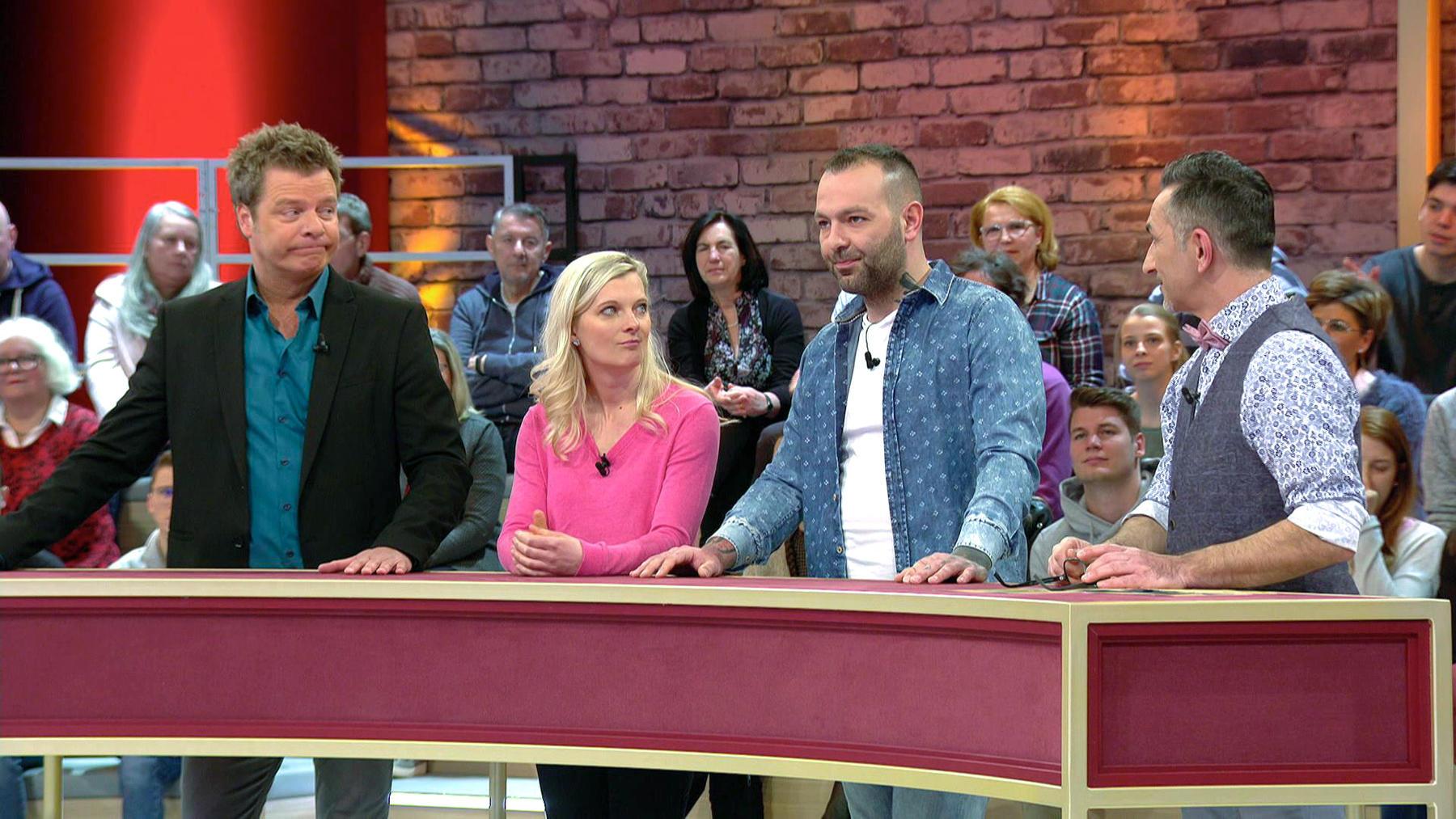 Kandidatenpaar Eleen & Lars / Experte Mauro