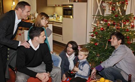 Familie Weigel feiert doch zusammen Weihnachten