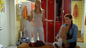 Katja und Isabelle wollen ihr Kriegsbeil begraben
