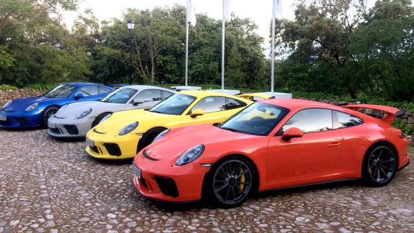 Der neue Porsche 911 GT 3