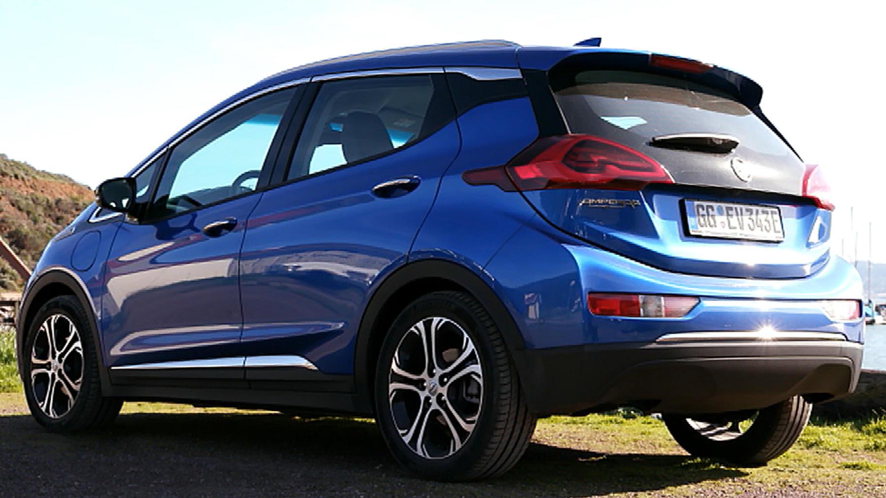 Thema u.a.: Fahrbericht Opel Ampera E