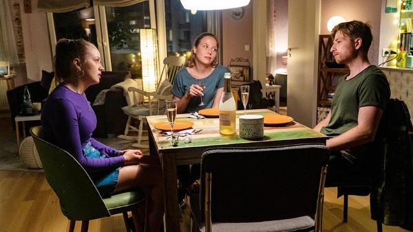Lucie hofft auf eine Aussprache mit Moritz