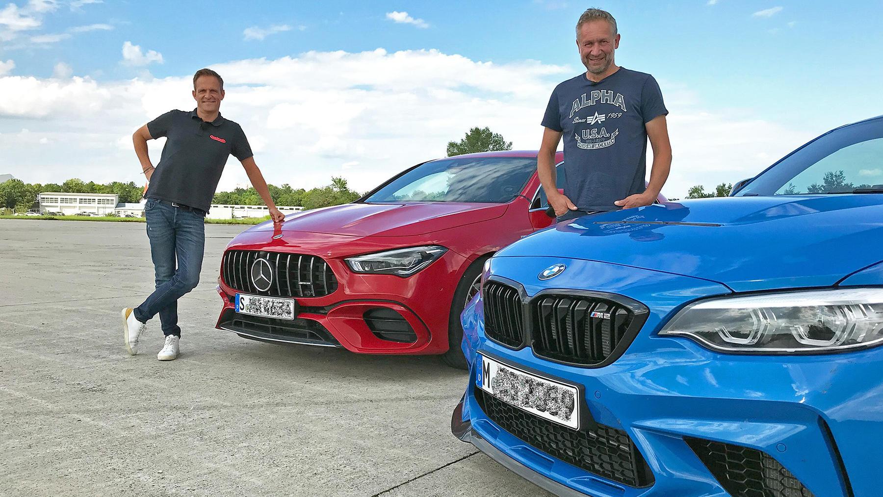 Matthias Malmedie und Niki Schelle gehen mit zwei echten Knallbüchsen ins Duell