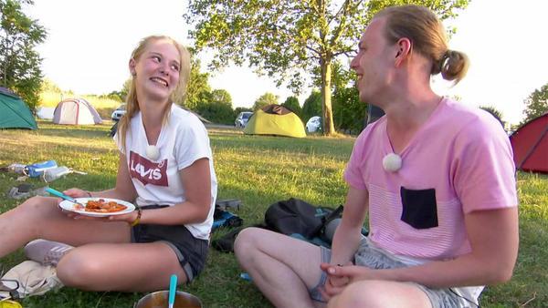 Heute u.a. mit: Celine und Lukas / Wien
