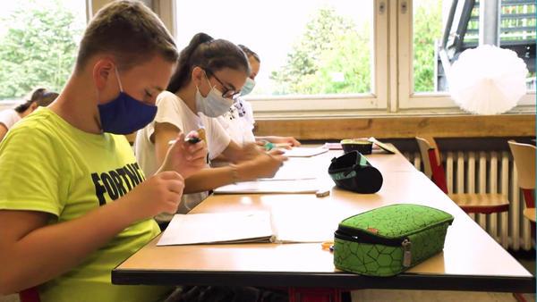 Schulalltag in der Coronakrise