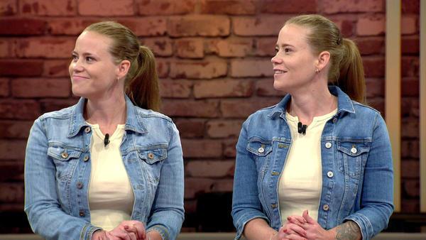Kandidatenpaar Julia & Stephanie / Experte Mauro