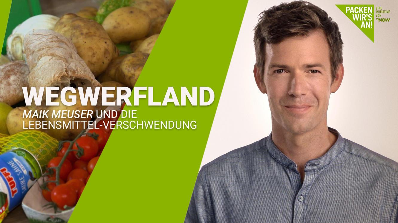 Wegwerfland - Maik Meuser und die Lebensmittel-Verschwendung im Online Stream   TVNOW