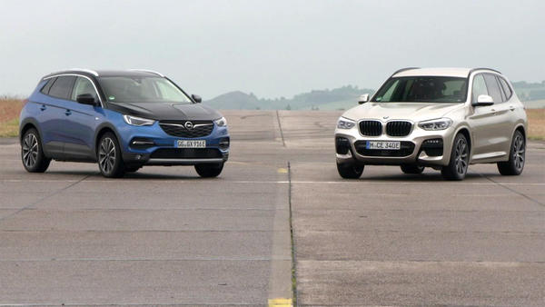 Thema u.a.: VT Opel Grandland X vs. BMW X3 mit Alex und Albert