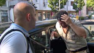 Kindsvater wird von Fremdem angegriffen / Schlagernewcomer verschwindet