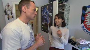 Junger Vater will dubioser Frau helfen