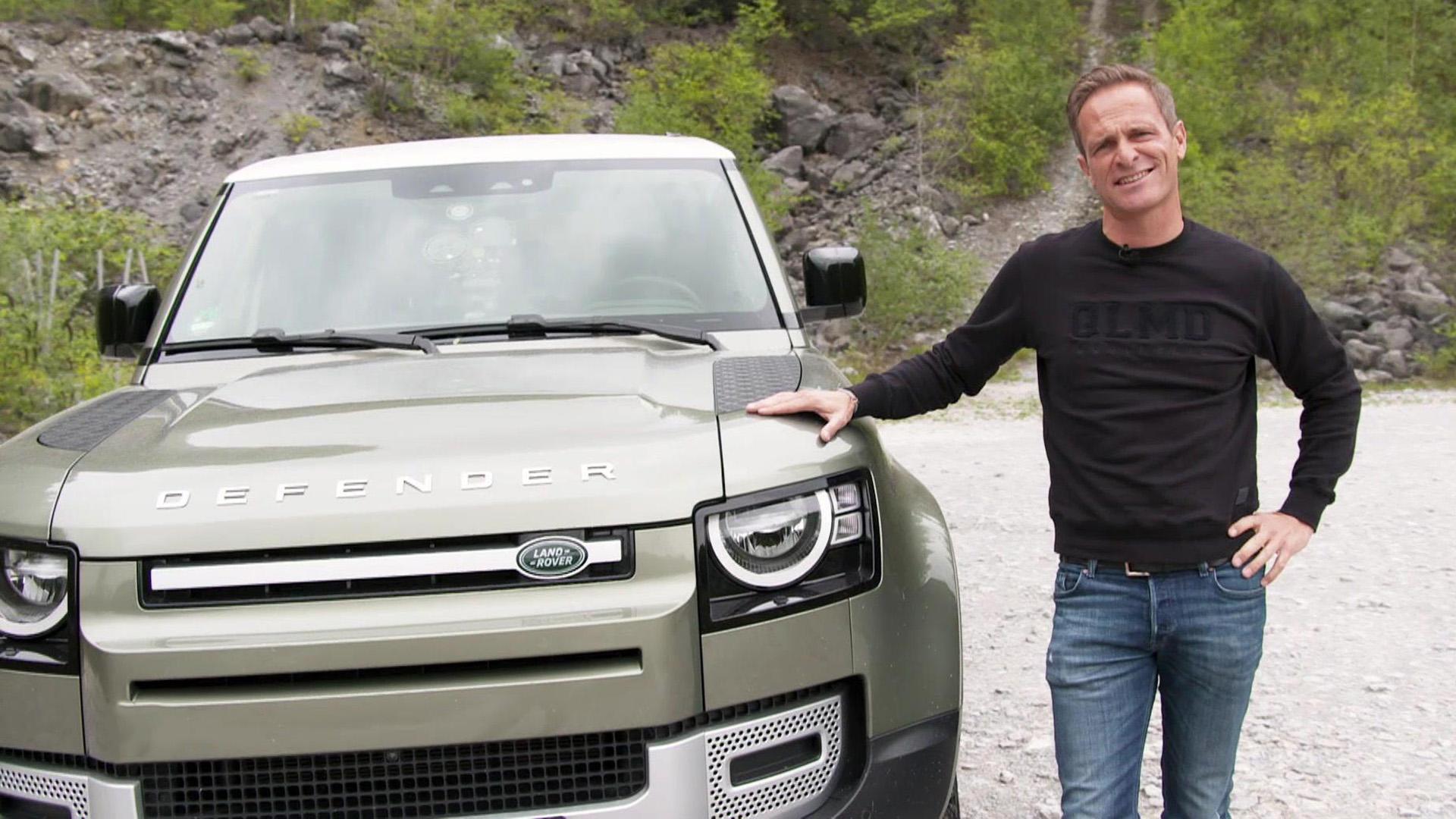 Land Rover Defender - Alt vs. Neu
