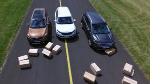 Thema u.a.: Vergleichstest Kia Sorento vs. Ford Edge vs. Skoda Kodiaq