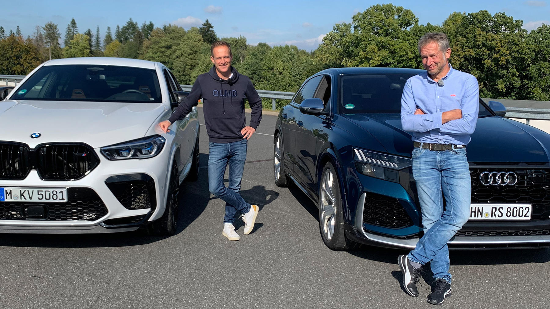Dicke Dinger: Audi RS Q8 vs. BMW X6 M Competition