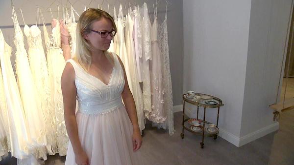 Blind Date mit einem Brautkleid