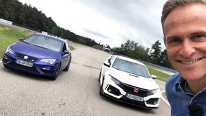 Honda Civic Type R gegen SEAT Leon CUPRA