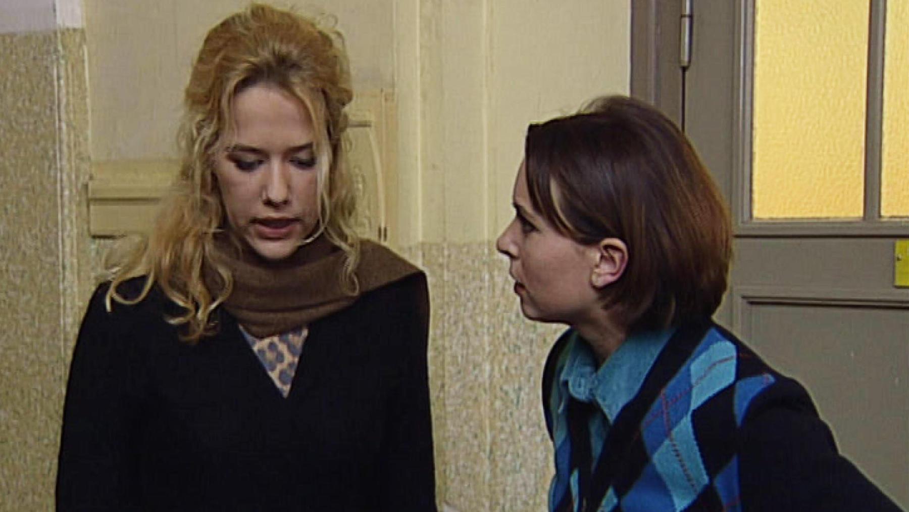 Nataly ärgert sich über Katjas Verhalten in der Schule