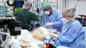 Schlaganfall-Patient kämpft um sein Leben