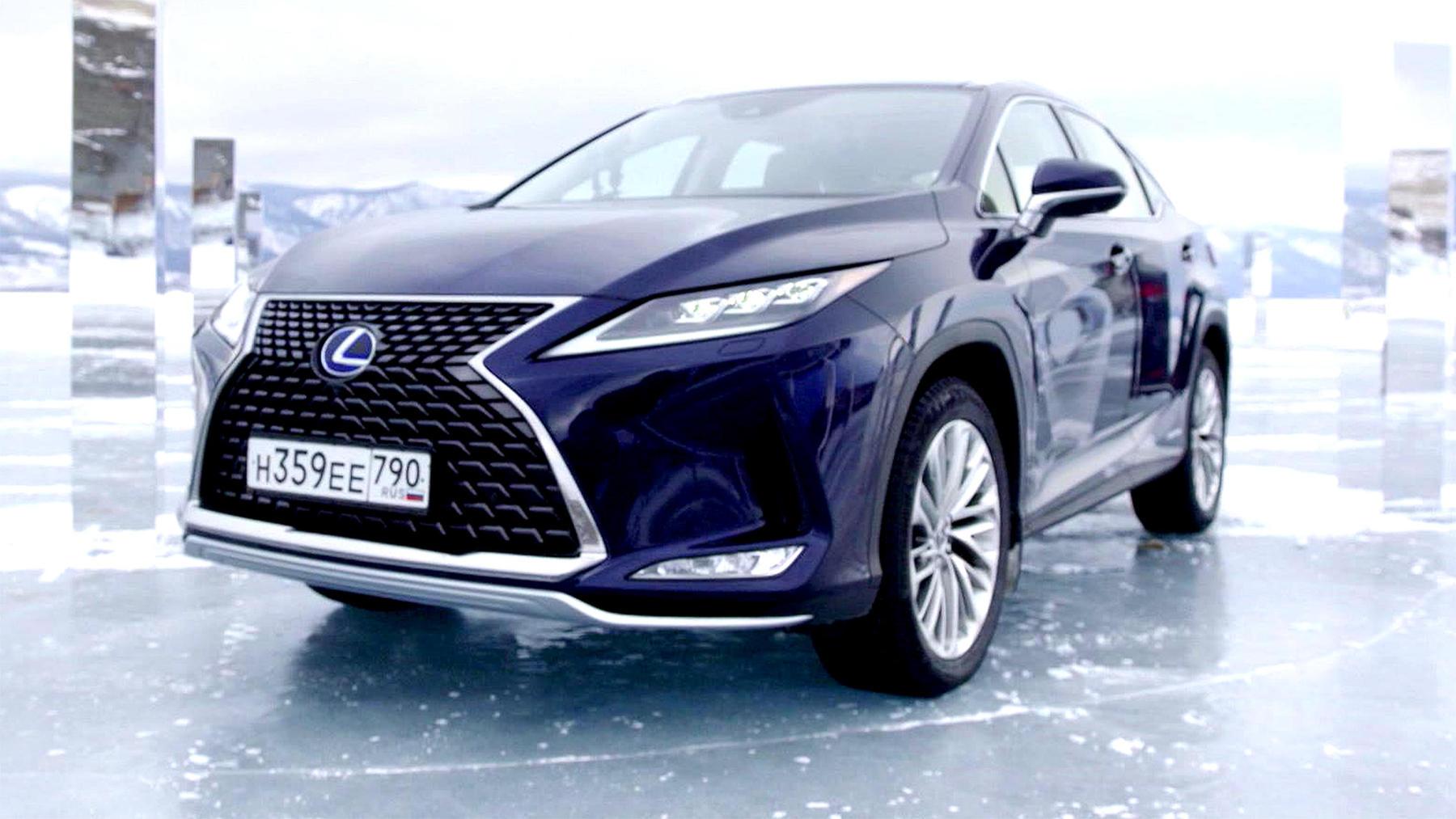 Thema u.a.: Der Lexus RX 450h mit Hybridtechnologie