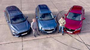 Thema u.a.: Vergleichstest Skoda Octavia - Mazda 6 Kombi - Ford Focus Turnier