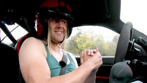 Thema u.a.: Lance als Film-Stuntfahrer