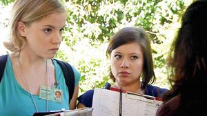 Franziska und Vanessa lüften ein Familiengeheimnis