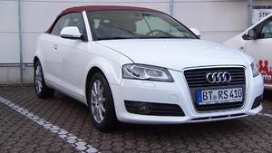 Thema u.a.: Audi A3 Cabriolet