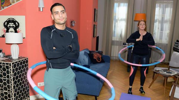 Das Crosslauf-Training ist kein Problem für Nihat