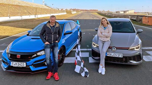 VW Golf GTI Clubsport vs. Honda Civic Type R GT!