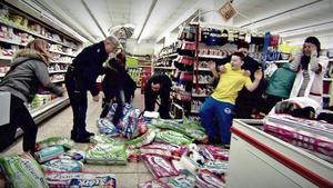 u.a.: Kindergang randaliert in Supermarkt