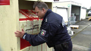 Überraschender Polizeieinsatz