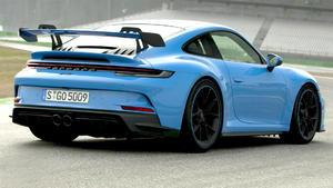 Thema u.a.: Der neue Porsche GT3