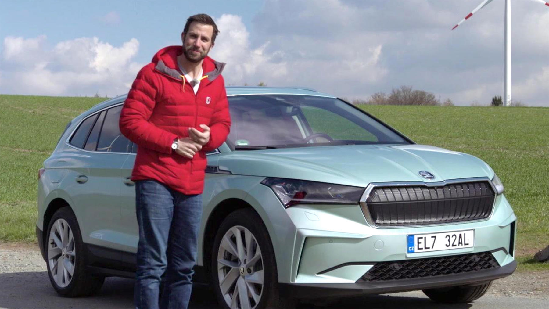 Thema u.a.: Der neue Škoda Enyaq