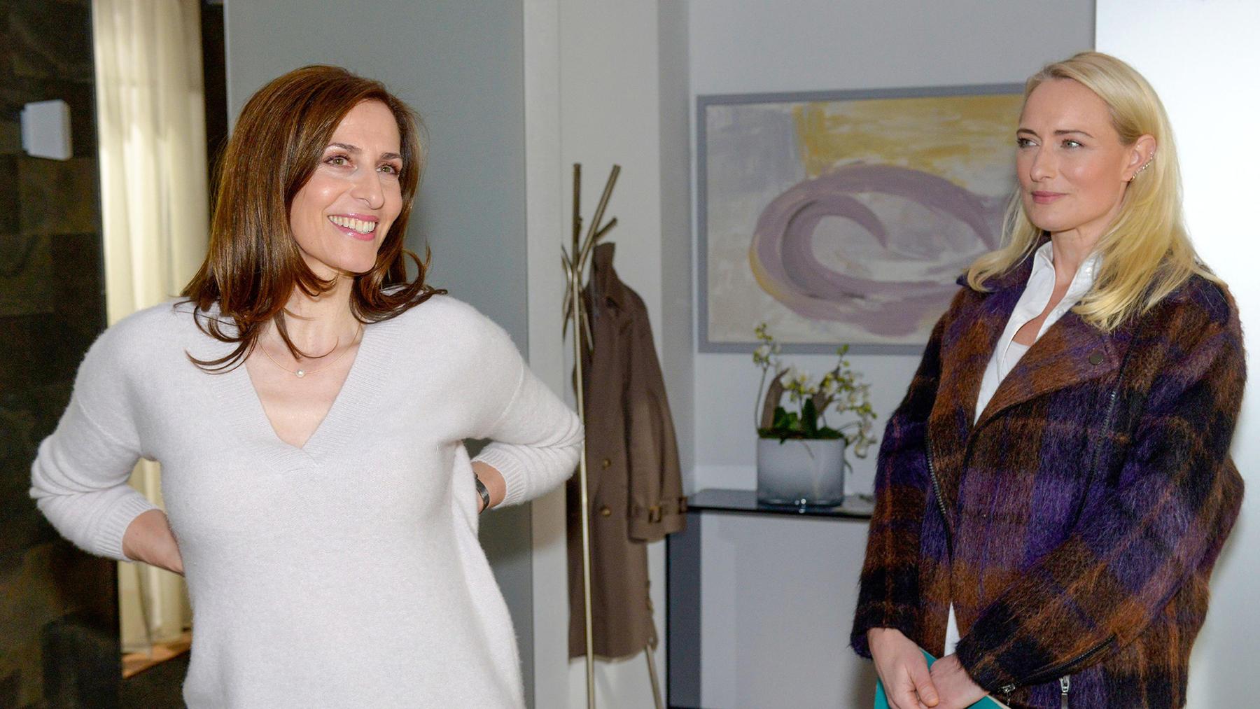 Kaum zurück im Kiez, wird Katrin mit Melanies Gegenwart konfrontiert